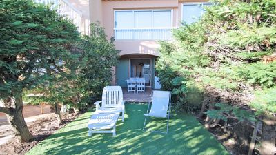 Photo for Apartment T2 - 4 people - Air conditioning - Beach front Nartelle - Sainte Maxime