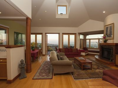 Photo for Elegant Claremont Estates Home Near UC Berkeley With Views From Every Level