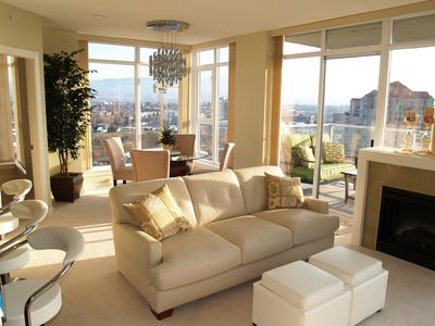 Photo for The Skye at Waterscapes Kelowna Luxurious Lake View Condo
