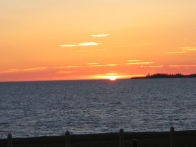 Sunset from cottage - Seacow Head Lighthouse views as well