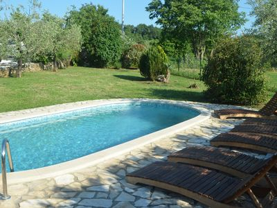 Photo for Beautiful villa **** with swimming pool, Suana, Jacuzzi, WiFi, barbecue