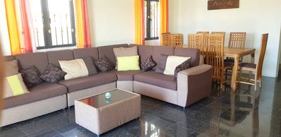 Photo for Homerez last minute deal - Spacious house with sea view and Wifi