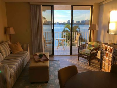 Photo for Beachfront! Remodeled! Lovers Key Beach Club #103