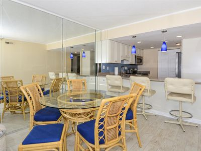 Photo for FREE DAILY ACTIVITIES! This well-maintained 2 bedroom, 2 bath direct ocean front condo has balcony access from living room and master bedroom
