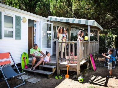 Photo for Camping Poplars **** - Mobile home Plaisance 3 Rooms 5/7 People