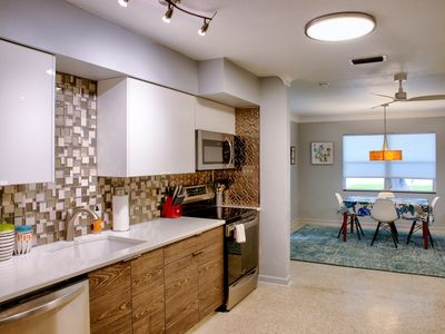 Photo for Good Vibrations- All NEW 60's-Style Bungalow in Fabulous Bayside Neighborhood!!