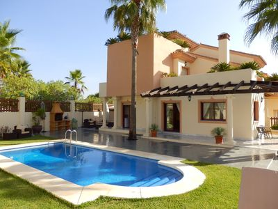 Photo for Large 5 bedroom villa, recently decorated with wonderful views