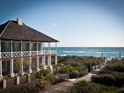 Photo for Pitot Cottage, 30A Cottages, Gulf Front Luxury Home in Rosemary, Panoramic Gulf View, 6 Bikes!