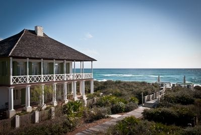 Pitot Cottage ~ Gulf front luxury home in Rosemary Beach
