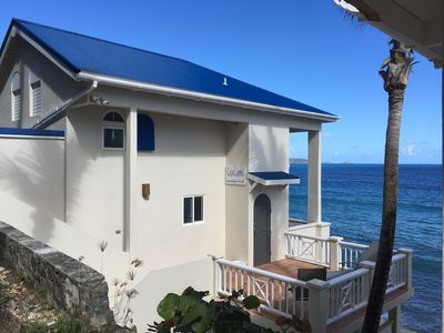 Photo for CASA CARIBE SEA LEVEL OCEANFRONT VILLA, Air Conditioning, Beautiful Views!