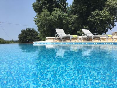 Photo for Traditional Istrian villa near Poreč,BIG POOL-45mq,with a part for kids