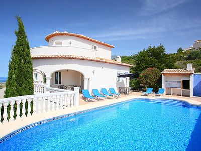 Photo for 3 bedroom Villa, sleeps 6 in Ráfol de Almunia with Pool, Air Con and WiFi