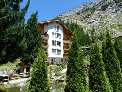 Photo for Apartment in the holiday region Saastal / Saas-Fee incl. mountain railways