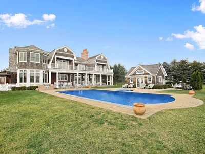 Photo for Scenic Pond Front Home in a Private Development W/ Spacious Backyard & Pool