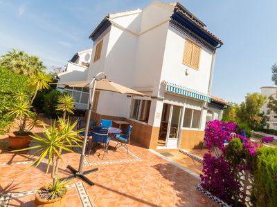 Photo for [ER-104] Townhouse with a Swimming Pool and BBQ 400m to the Sandy Beach