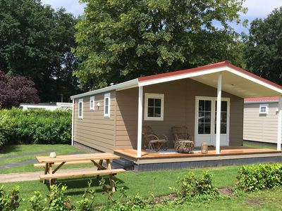 Photo for Charming and authentic holiday house in a holiday park in a beautiful area