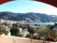 Beautiful view over looking the Rapallo Bay