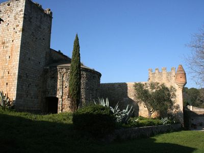 Photo for Castle sorrounded by the forest at 10min drive from the beach