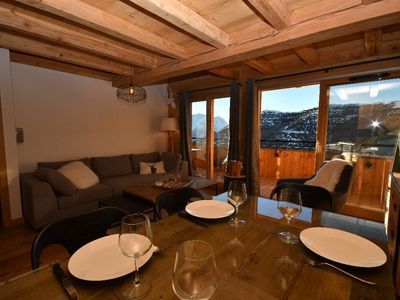 Photo for 3BR Apartment Vacation Rental in Huez, Auvergne-Rhône-Alpes