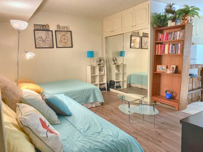 Photo for Beach/Convention center/Queen Mary/Downtown/Garage/Sleeps 4/WiFi/pets ok