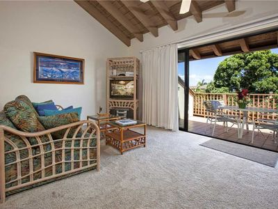 Photo for Two bedroom loft condo on the second floor at the Maui Kamaole sleeps 6. F-208