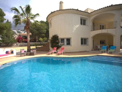 Photo for 3 bedroom Villa, sleeps 9 with Pool, Air Con and FREE WiFi