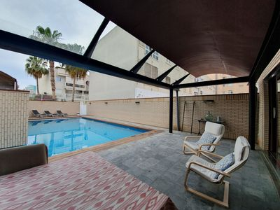 Photo for Private Pool House for Couples