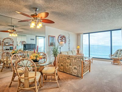 Photo for 100% Oceanfront & On the Beach!! 7th Floor at The Mahana 1 Bed/1 Bath