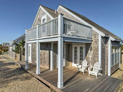 Photo for OCEAN VIEWS!! Immaculate Quintessential Nantucket Beach Cottage- BOOK NOW!!!!