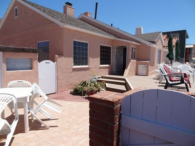 Room for Patio Covers, barbecues and chairs.