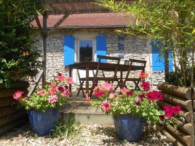 Photo for Charming stone gite totally renovated and well decorated