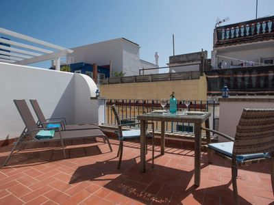 Photo for Velero Attic - Fantastic terrace in town