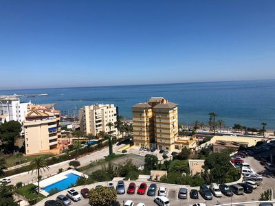 Photo for Apartment in Benalbeach with fantastic sea views