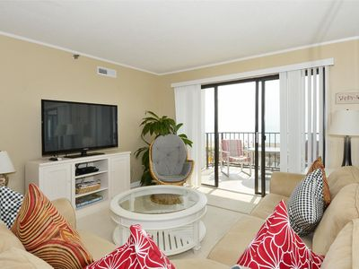 Photo for fREE DAILY ACTIVITIES! Direct oceanfront two bedroom, two bath with enclosed den (used as 3rd bedroom).