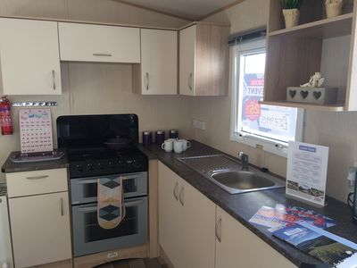 A great kitchen for all you holiday needs in Shanklin, Isle of Wight.