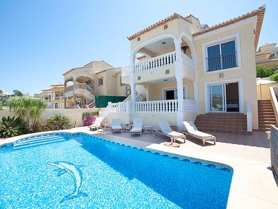 Photo for Vacation home Victoria  in Calpe/ Calp, Costa Blanca - 10 persons, 5 bedrooms
