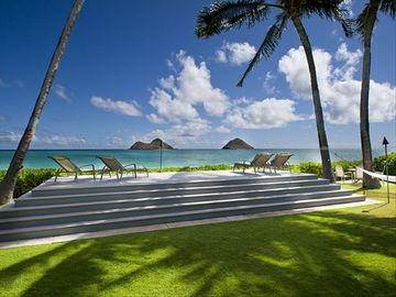 Luxury Ocean Front Lanikai  4/3.5 from $24,000/M or from $1500/Nigtht
