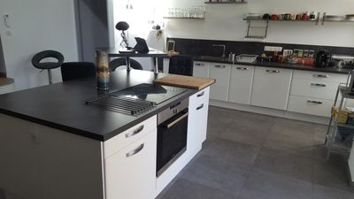 Photo for Valréas, 1 private double room in loft completely renovated to nine