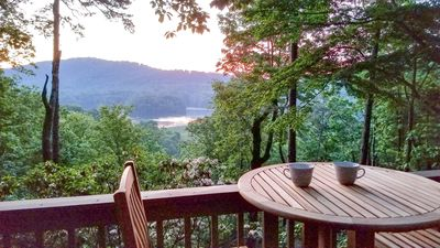 Photo for Couples Retreat with Hot Tub and Lake/Mountain Views in Big Canoe Luxury Resort