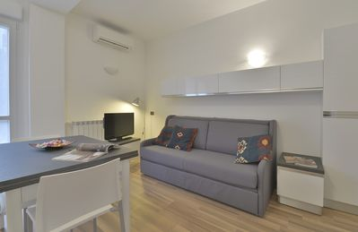 Photo for Candiani 1F - Spacious 1bdr w/ balcony steps from Milan Politecnico