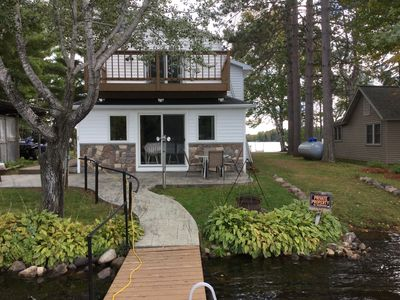 Photo for Lakeside vacation rental on Musser lake in north central WI