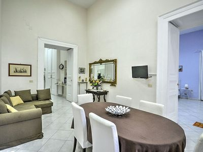 Photo for Casa Masaniello: An elegant and welcoming apartment located in the historic center of Naples, with Free WI-FI.