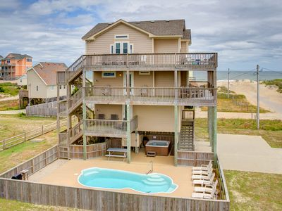 Photo for Sunsets in Rodanthe - Four Bedroom House, Sleeps 8