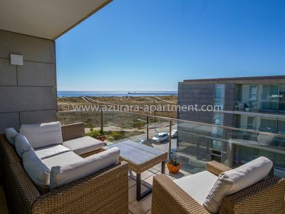 Photo for Azurara Beach Apartment with Ocean View