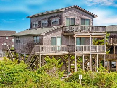 Photo for Exquisite Oceanfront Views in Avon w/ Boardwalk to Beach, Gaming System, WiFi