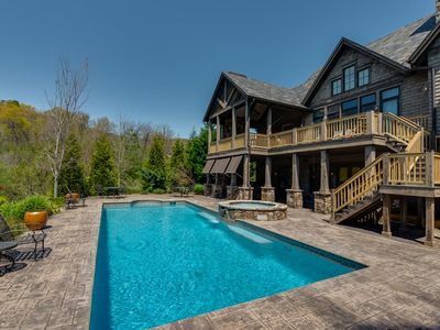 Photo for Retreat in Bright`s Creek Reserve | 25 Min. To TIEC | Pool, Spa and Views!