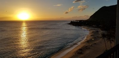 Photo for Sunsets over a beautiful white sand beach!