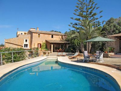 Photo for 3 bedroom Villa, sleeps 6 in Cas Concos with Pool and WiFi