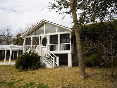 Photo for Ashley Haven 2 Minute Walk to the Beach! Super Cute 3 Bedroom House