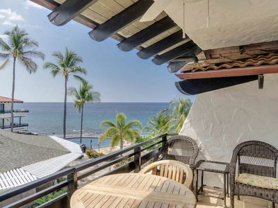 Photo for Enchanting Ocean View Condo with Lanai, Perfect for Couples, Central AC